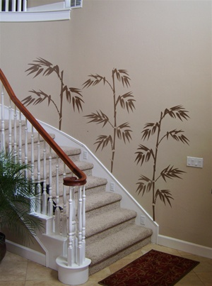 Bamboo Too wall decals stickers