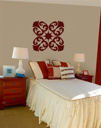 "Ceiling or Wall Ornamental decal sticker ""Ornate"""