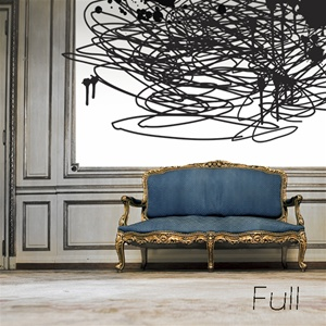 Chaos Ink Scribble Wall Decal Sticker
