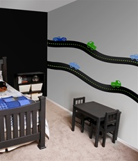 Road & Car Wall Decals Stickers