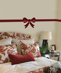 Ribbons & Bows wall decals stickers