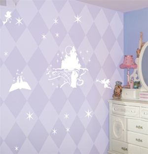 Princess Fairytale wall decals stickers
