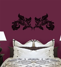 Flourish wall decal sticker
