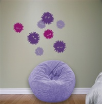 Fuzzles wall decals stickers