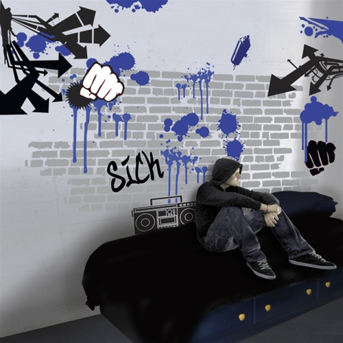 Grafitti Wall Decal Stickers