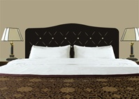 Tufted Headboard wall decal sticker