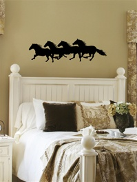 Wild Horses western wall decal sticker