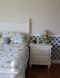 Lattice wall decal stickers