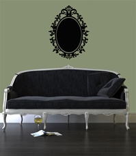 Mirror Frame wall decal sticker
