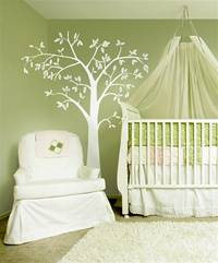 Neu Tree 7 foot tall wall decal sticker