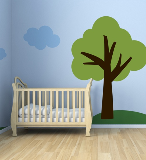One Tree Hill 6 Foot Tall Wall Decal Sticker