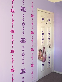 Roxy Girl wall decals stickers