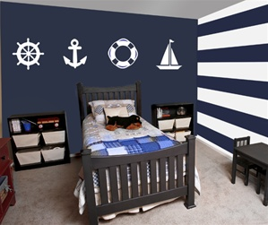 Sailor Wall Decals Stickers