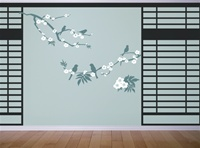 Japanese Screen wall decals stickers