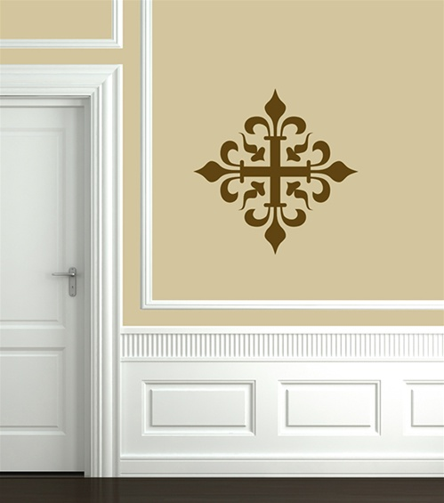 Ceiling Or Wall Tile 3 Ornamental Decal Sticker