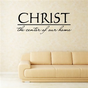 Christ the center of our home