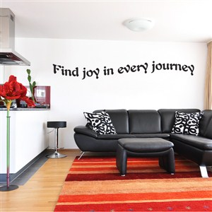 Find joy in every journey