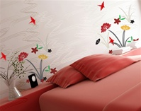 Asian Garden wall decals stickers