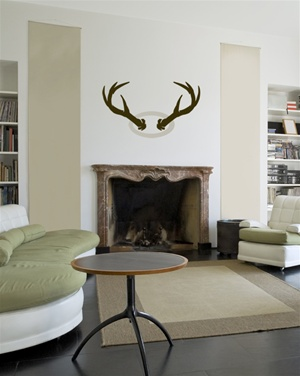 Antlers wall decal sticker