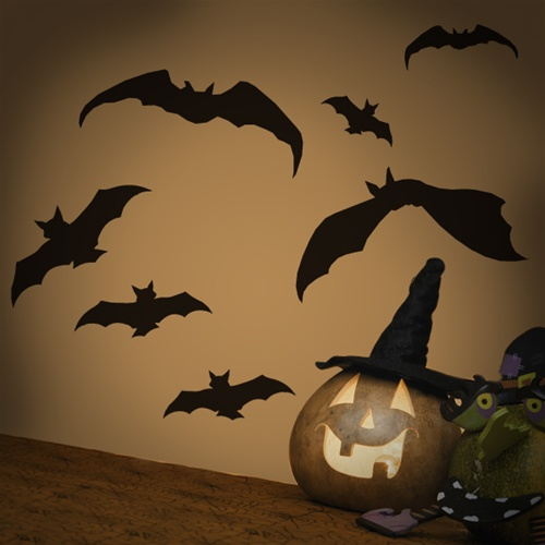 & Bat Wall Decals Stickers
