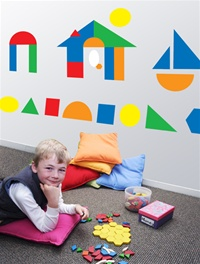 Blocks wall decals stickers