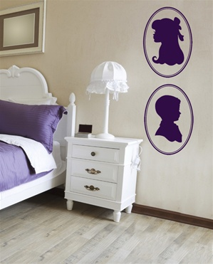 Cameo Boy wall decal sticker