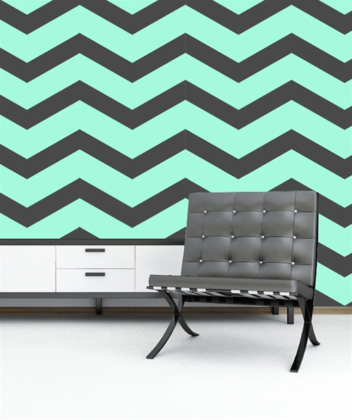 chevron template for walls - chevron zig zag pattern wall decals stickers