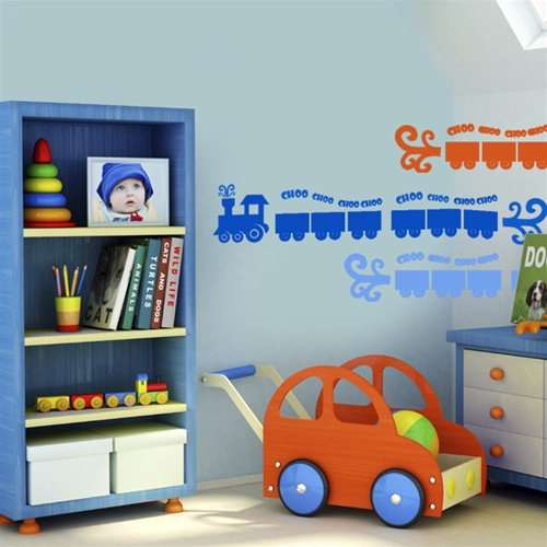 Exceptionnel Choo Choo Train Wall Decals Stickers · View Larger Photo