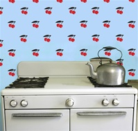 Cherries wall decals stickers
