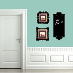 Cute Note Frame Set Wall Decals Stickers