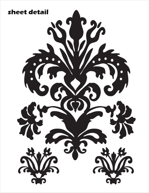 damask wall decals roselawnlutheran