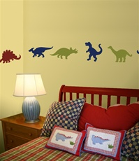 Dinosaur wall decals stickers