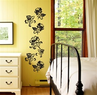 Floral Vine wall decals stickers