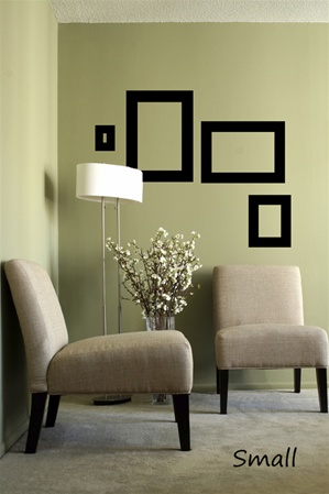 Modern Frames wall decals stickers