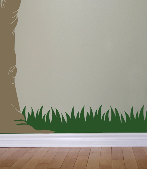 & Grass wall decals stickers
