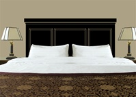 Classic Headboard wall decal sticker