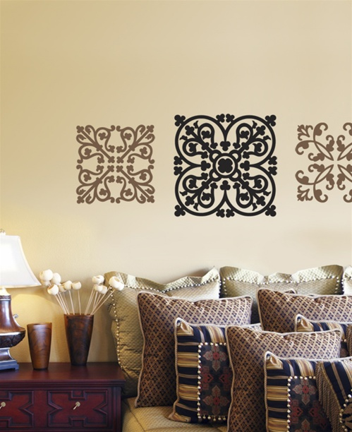 ornamental wall decals stickers