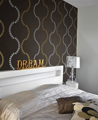 Attrayant Loop Stripes Wall Decals Stickers