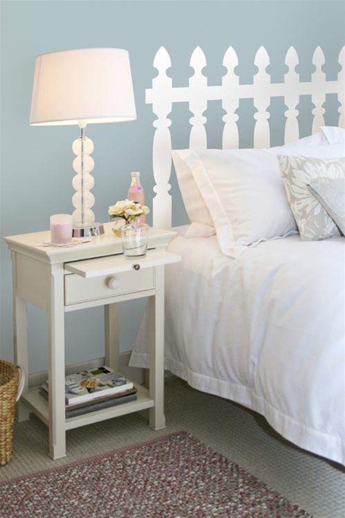 & Picket Fence wall decal stickers