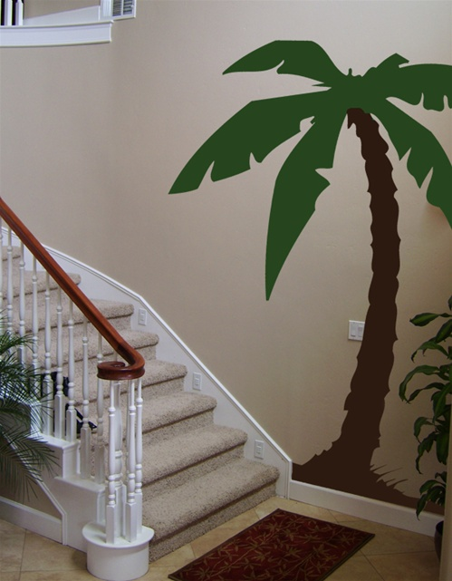 ... Palm Tree Wall Decal · View Larger Photo
