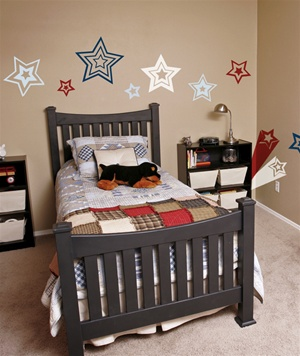 Pop Stars wall decals stickers