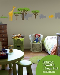 Safari Animals wall decals stickers