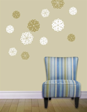 Snowflake Cutout-wall decals stickers