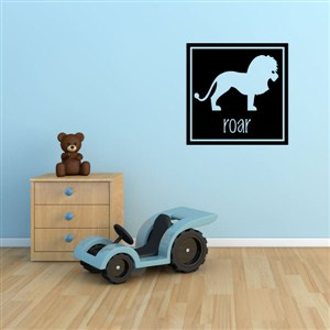 roar - Vinyl Wall Decal - Wall Quote - Wall Decor