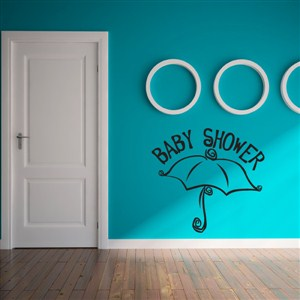 Baby Shower - Vinyl Wall Decal - Wall Quote - Wall Decor