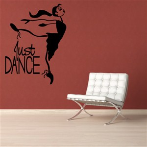 Just Dance - Vinyl Wall Decal - Wall Quote - Wall Decor