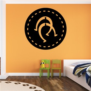 Horseshoes - Vinyl Wall Decal - Wall Quote - Wall Decor