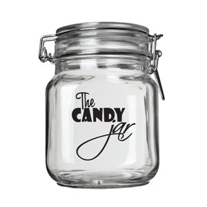 The Candy Jar - Vinyl Wall Decal - Wall Quote - Wall Decor