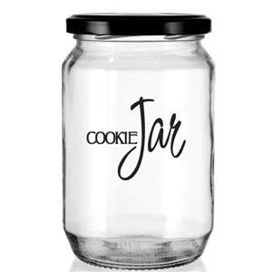 Cookie Jar - Vinyl Wall Decal - Wall Quote - Wall Decor