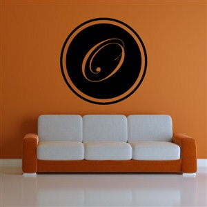 Circle Frame Monogram - O - Vinyl Wall Decal - Wall Quote - Wall Decor